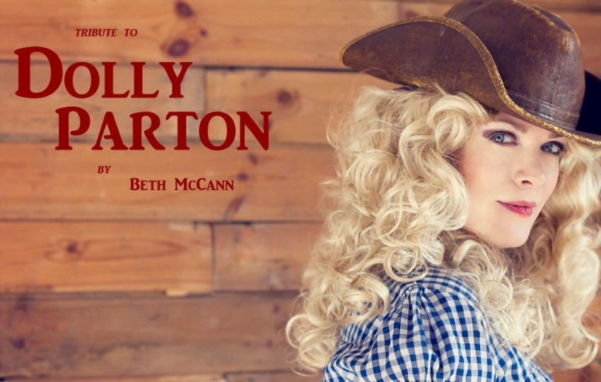 Beth McCann as Dolly Parton