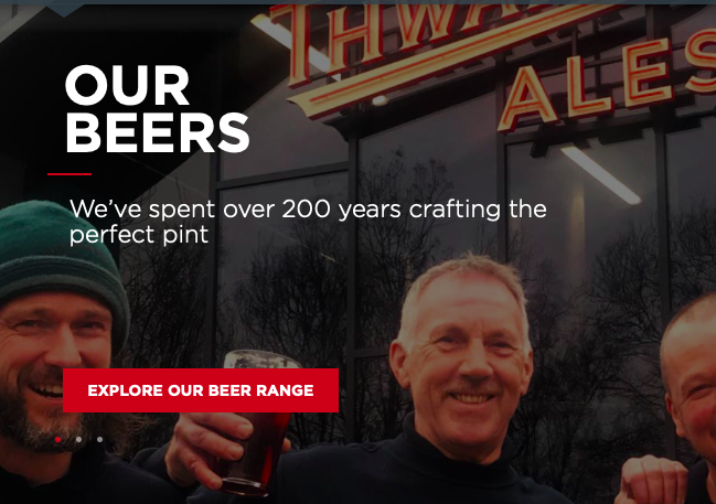 Club Sponsor: Thwaites Brewery